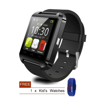 Harga Smart Bluetooth Watch for Android/iOS Smartphone + Free Gift - intl