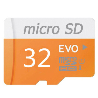 Harga WHD 32GB Micro SD Card (orange)