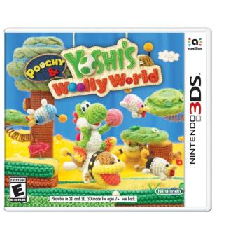 Harga 3DS Poochy & Yoshi's Woolly World (R1)
