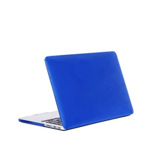 YBC Rubberized Hard Case Shell Cover Crystal Protect Case for Apple Macbook Pro 15.4 - intl