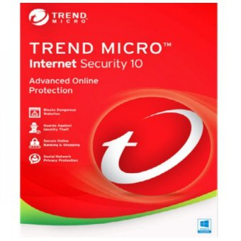 Harga Trend Micro Internet Security Cloud Edition 1PC 1 License