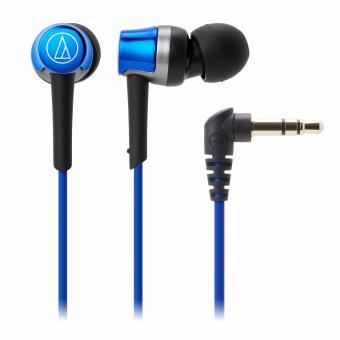 Harga Audio-Technica ATH-CKR30iS In Ear Headphones for Smartphone (Blue)