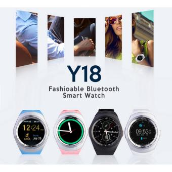 Harga 2017 Latest Bluetooth Smart Watch Y18 Smart Watch