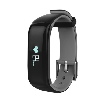 Harga niceEshop Health Fitness Tracker With Heart Rate Monitor And Blood Pressure Sports Smart Wristband Pedometer Smart Bracelet Bluetooth Smart Watch For IOS And Android - intl