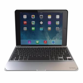 Zagg Slim Book W/ Backlit Bluetooth Keyboard Detachable Case For iPad Air 2/Air/Pro 9.7""
