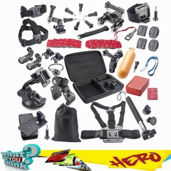Harga Accessories Kit for Gopro 2 3 3+ 4 Sj5000 SJ6000 Sj4000 - intl