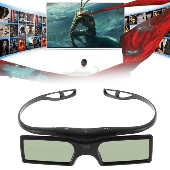 3D Glasses Bluetooth for Samsung TV Blue-ray Player Active Shutter 3D LCD Lens - intl