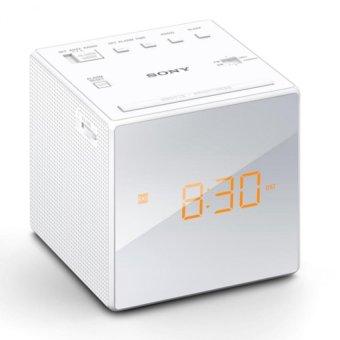 Harga Sony Singapore ICF-C1 Radio Clock (White)