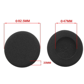 Harga Replacement Ear Pads Cushions for GRADO SR60 SR80 SR125 Headset Cover Earbud - intl