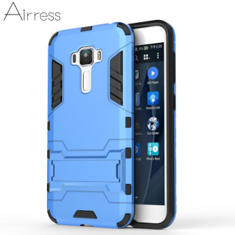 Airress TPU/PC 2in1 Armor Rugged Military Grade Phone Case for Asus Zenfone 3 ZE552KL(Blue)