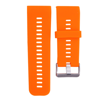 Silicone Watch Strap for Garmin Vivoactive HR(Orange)