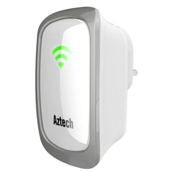 Aztech WL559E Wall Plugged Wireless-N Range Extender