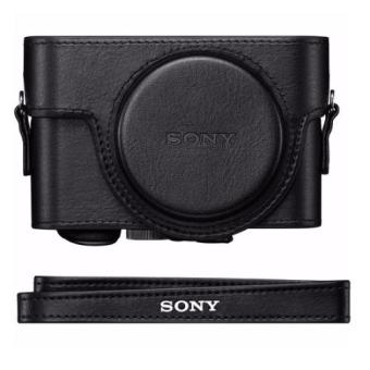 Harga Sony Premium Jacket Case for Cyber-shot RX100, RX100 II, RX100 III, RX100 IV (Black)
