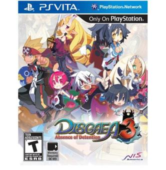 Harga Disgaea 3: Absence of Detention - PlayStation Vita - intl
