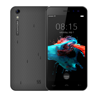 "Harga HOMTOM HT16 Smartphone 3G Android 6.0 5.0"" Screen 1GB RAM 8GB ROM Black - intl"