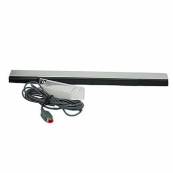 Harga Wired Infrared IR Ray Motion Sensor Bar for Nintendo Wii and Wii U Console - intl