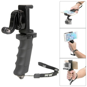 Harga Fat Cat Hand Grip Stabilizer w/ Phone Clamp for GoPro Hero 4 3+ 3 2 - intl
