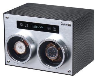 Harga Tresor 2-Slot Watch Winder MW-2 (Carbon Fiber)