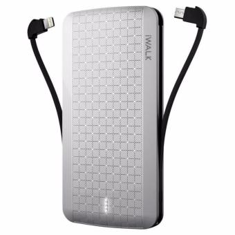Harga iWalk Tripus 8000 White Portable Universal Battery(White 5001-10000mAh)