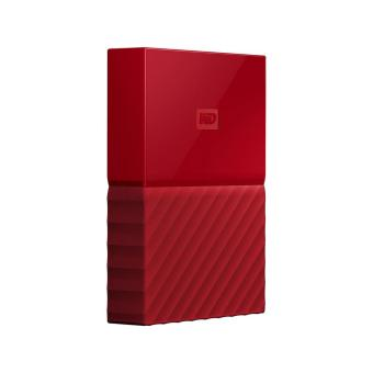 Harga WD My Passport Portable External Hard Drive (Red) 4TB