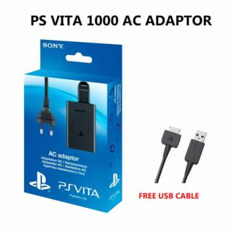 Harga PS Vita Ac Adaptor for VITA 1000(Black)