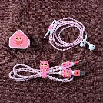 Harga Headphone winder Apple mobile phone charging Cable