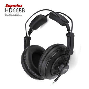 Harga Superlux HD668B Semi-open Professional Studio Standard Dynamic Headphones
