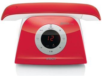 Harga VTECH LS6185A DECT Cordless Phone - Red