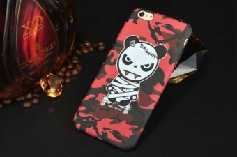 Harga Fashion Ultra Slim Hard Shell with Luminous Effect for Apple IPhone 7 Back Case Cover Printing cute bear Cell Phone Cases - intl