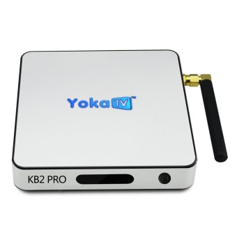 Harga YOKA KB2 PRO TV BOX Android 6.0 Octa Core TV Box Amlogic S912 BT 4.0 Streaming Media Player Smart TV Box Set top Box - intl