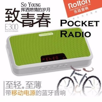 Harga Portable Pocket Mini FM Radio (Rolton)
