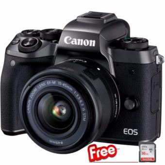 Harga Canon EOS M5 + EF-M15-45mm IS STM Kit