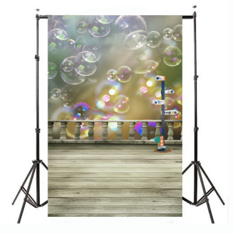 Harga 3x5ft Bubble Printing Studio Backdrop Vinyl Cloth Photography Prop Background