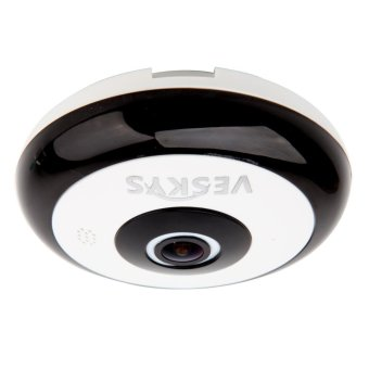 Harga VESKYS 360 Degree HD Full View IP Network Security Wi-Fi Camera - intl
