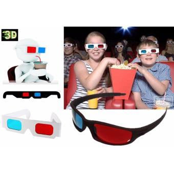 3D Glasses Paper Frame Set of 10