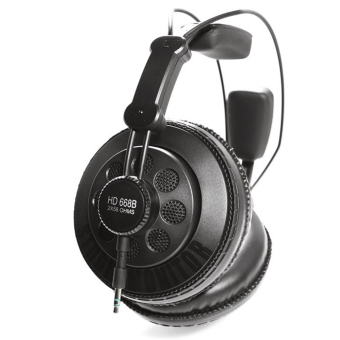 Harga Superlux HD668B Semi-open Dynamic Professional Studio Monitoring Headphones (Black) (EXPORT)