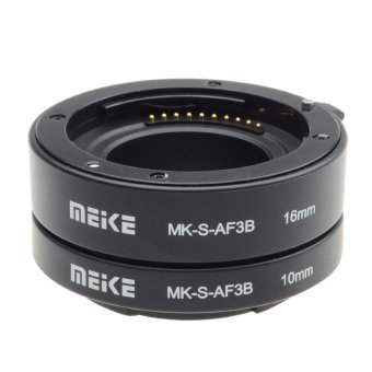 Meike S-AF3-B Extension Tube for Sony E-Mount NEX-7 NEX-6 NEX-5R NEX-3N NEX-F3 NEX-5N NEX-5C NEX-C3(Export)