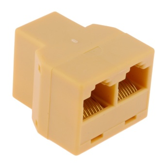 Harga RJ45 3 Way LAN Network Ethernet Splitter Connector