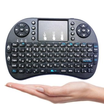 Harga i8 Backlight 2.4G Mini Wireless Keyboard w/ Touchpad for Smart TV Android Box PC - intl
