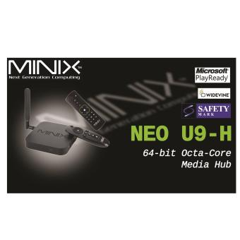 Harga Android MiniX Neo U9-H (Newest) 4K TV Media Box + A2 Lite Air Mouse
