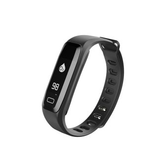Harga G15 Bluetooth Heart Rate Smart Bracelet Blood Oxygen Monitor Fatigue Detection Smart Wristband - intl