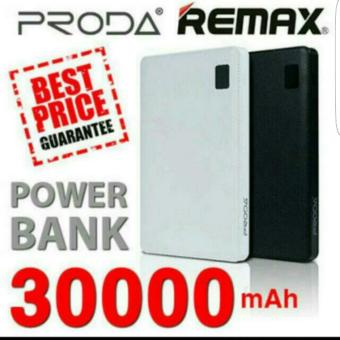 Harga REMAX PRODA Note 30000mah Powerbank with 4 charging Port (Black)