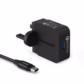 Harga Tronsmart Quick Charge 3.0 USB Rapid Wall Charger Stand-up Fast Wall Charger - intl