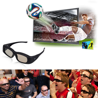 Super Active Shutter TV 3D Glasses (IR&BT) - intl