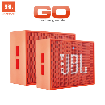 Harga JBL Go Portable Bluetooth Speaker (Orange + Orange) - intl