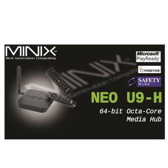 Harga Android MiniX Neo U9-H (Newest) 4K TV Media Box