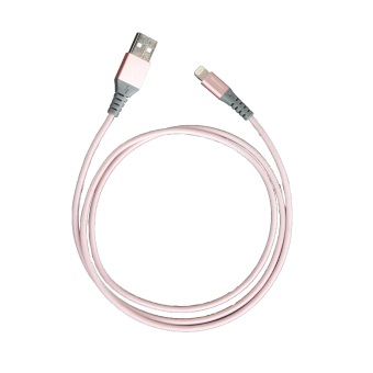 Harga thecoopidea 1M Flex Lightning Cable - Rose Gold