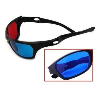 Red Blue 3D Vision Glasses