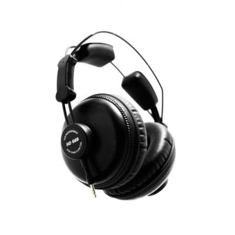 Harga Superlux HD669 Professional Studio Monitoring Headphones Black - intl