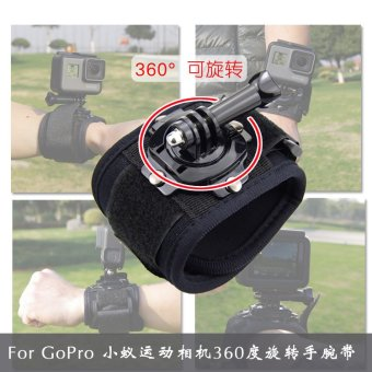 Harga Gopro accessories hero4/360 degree rotating hero5 wrist strap Go pro hero4/hero5 accessories